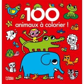 100 animaux à colorier ! -...