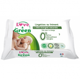 Love & Green Lingettes au...