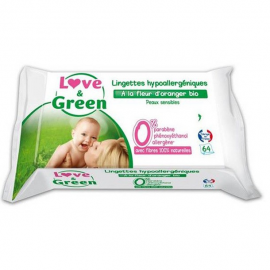 Love & Green Lingettes...
