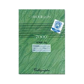 Cahier de brouillon 96...