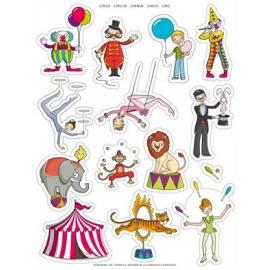 Gommettes Le Cirque - OGEO