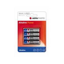 4 piles LR3 - ALKALINE