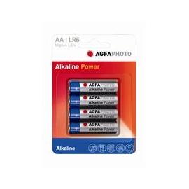 4 piles LR6 - ALKALINE