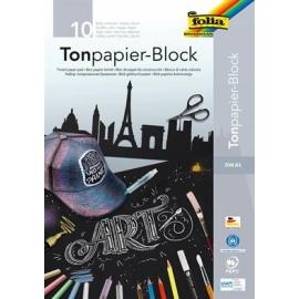 Bloc papier dessin noir A3...