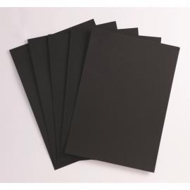 Le paquet de papier noir...