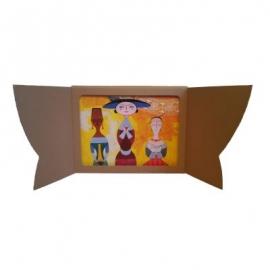 Butaï en carton souple -...