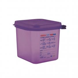 Bac hermétique violet...