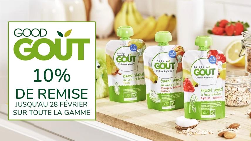 -10% sur toute la gamme good gout