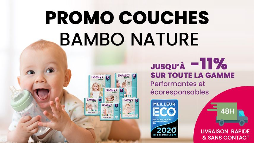 Promo Couches Bambo Nature